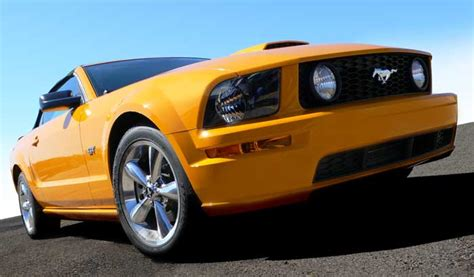 2008 mustang performance parts specs