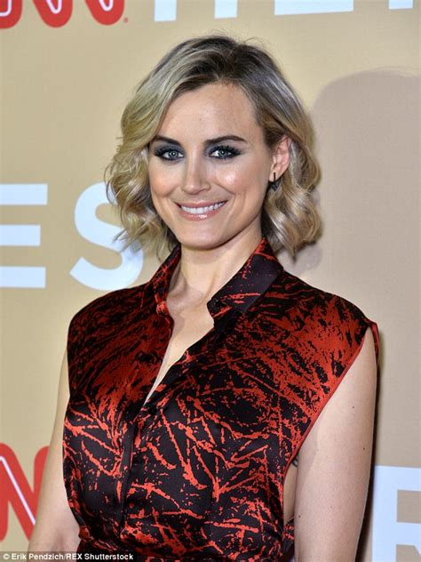 taylor schilling tattoo schilling flashes infinity rib cage at