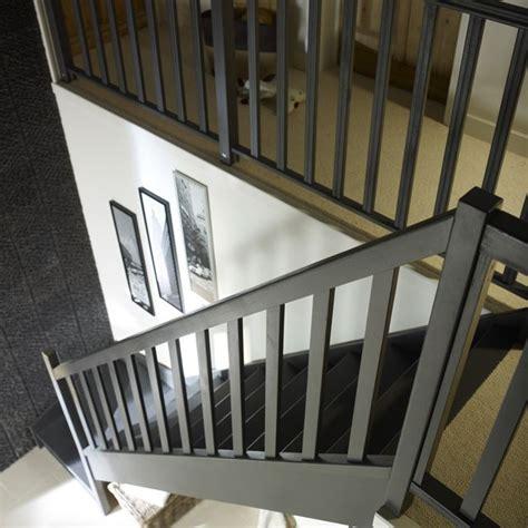 Peinture Montée D Escalier by Escalier 1 4 Tournant Bas Sapin Avec Re Mont 233 Droit