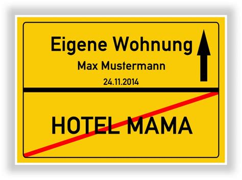 Geschenk Erste Eigene Wohnung by Ortsschild Bild Auszug Erste Eigene Wohnung Hotel