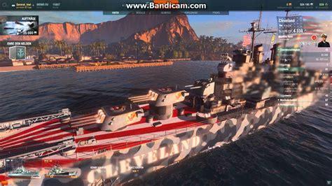 download mod game warship world of warships cleaveland us skin mod download youtube