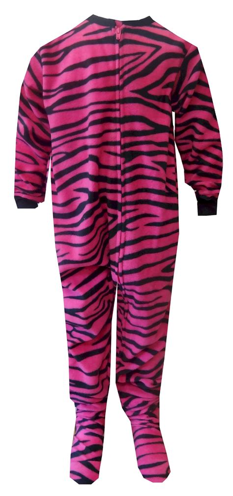 Zebra Piyama Set pink zebra fleece one footie pajama pyjama sets and pyjamas