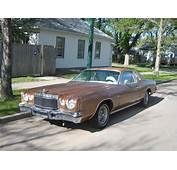 1975 Chrysler Cordoba  Information And Photos MOMENTcar