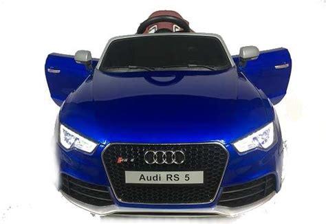 voiture sportive 4 portes 12 volts audi rs5 version sport voiture electrique enfant