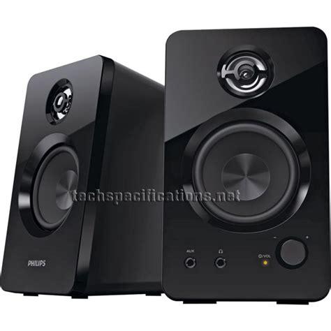 Speaker Komputer Philips philips spa7220 2 0 pc speakers tech specs