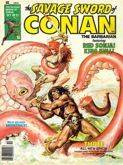 The Savage Sword Of Kull Volume 1 the savage sword of conan 23 torrent of doom issue