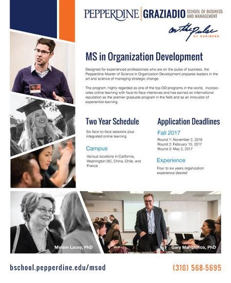 Of Pennsylvania Mba Course Catalog by Organization Development Master S Degree Msod