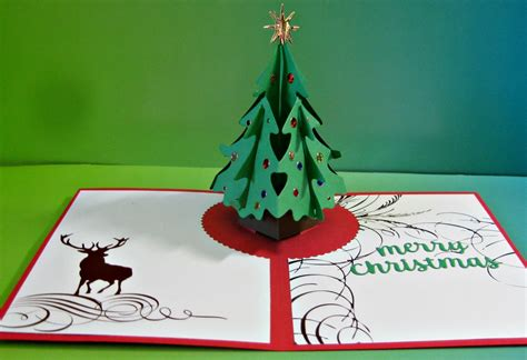 karen s kreative kards another pop up christmas card with