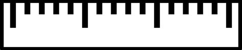 ruler diagram clipart ruler simple without figures