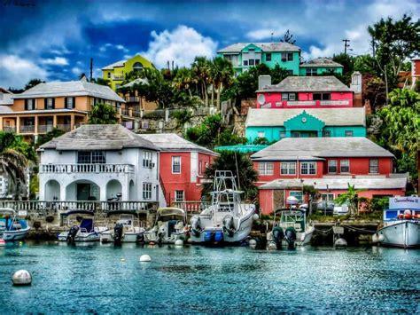 Colorful Beach Houses Breathtaking Bermuda Backroads Blog
