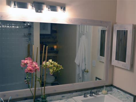 Installing A Bathroom Mirror How To Replace A Bathroom Light Fixture How Tos Diy
