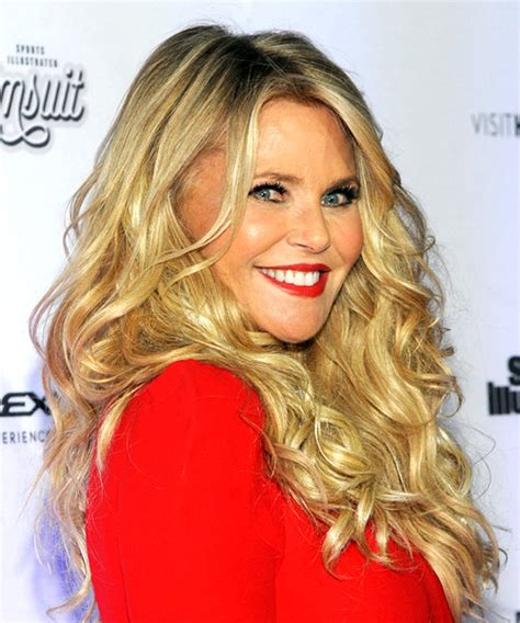 bangs for over 45 bangs for over 45 christie brinkley long curly casual