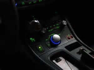 lexus ct200h led gear shift knob chrome blue light ebay
