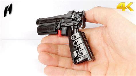 tutorial lego pistol lego technic gun moc youtube
