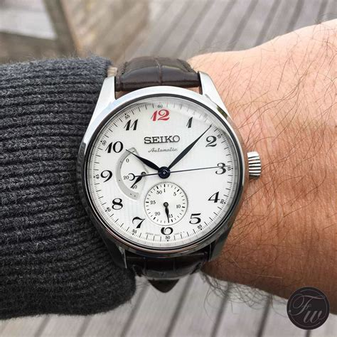 on seiko presage spb041j1 review inspired by the seiko laurel from 1913