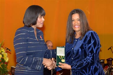 cathy levy miss jamaica prime minister calls on young people to get involved in