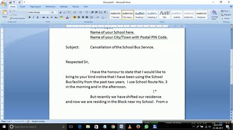 application letter for cancellation of admission in college an application to the principal for cancellation of school