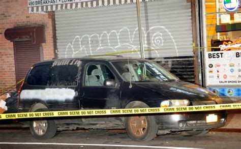 car service bed stuy brooklyn bicyclist left injured after hitting pedestrian