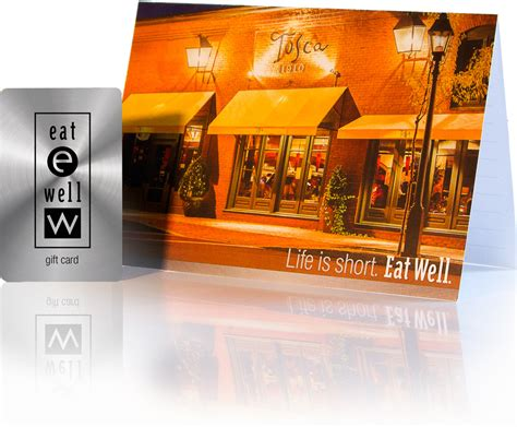 E Gift Cards That Can Be Used In Store - tosca gift card shop at eat well