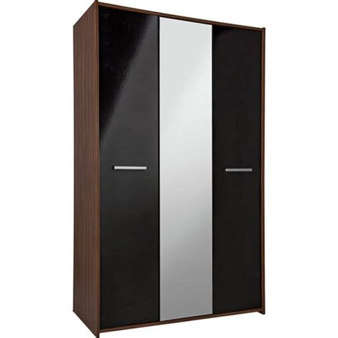Argos Wardrobes Sets by Buy Home New Sywell 3 Door Wardrobe Walnut Effect