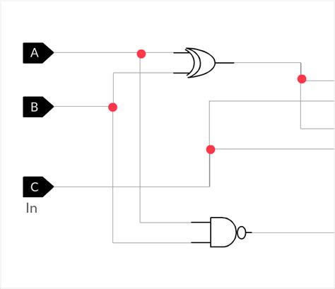 visio logic gates logic diagram template wiring diagrams schematics