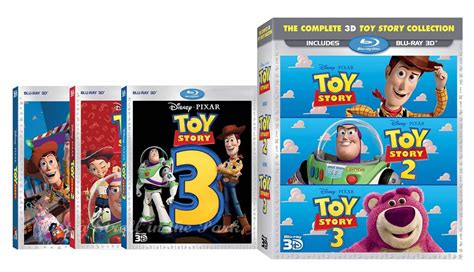 3 In 1 Toys Set story 1 2 3 trilogy complete disney pixar collection