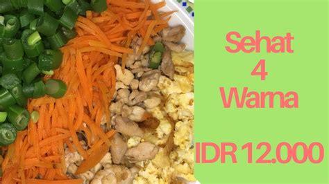 menu diet simple murah  idr  menu diet ala