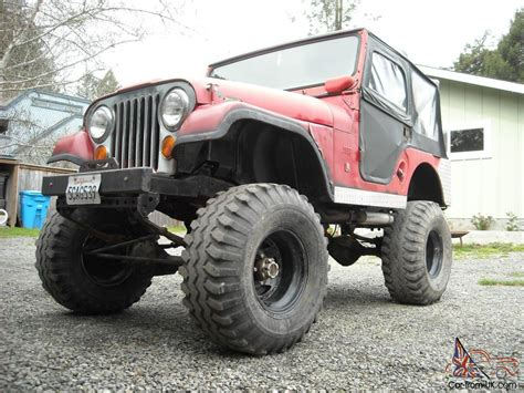 kaiser jeep lifted 1970 jeep cj5 lifted images
