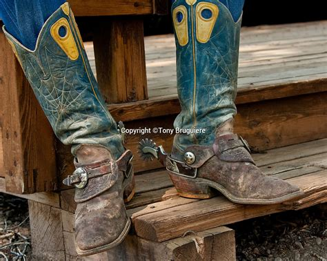 mens cowboy boots with spurs cowboy boots chaps and spurs tony bruguiere
