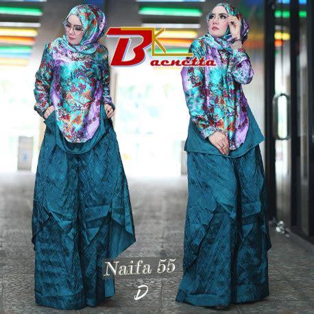 Nahda 52 By Baenetta naifa 55 d pusat busana gaun pesta muslim modern