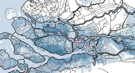 netherlands dikes map map dikes