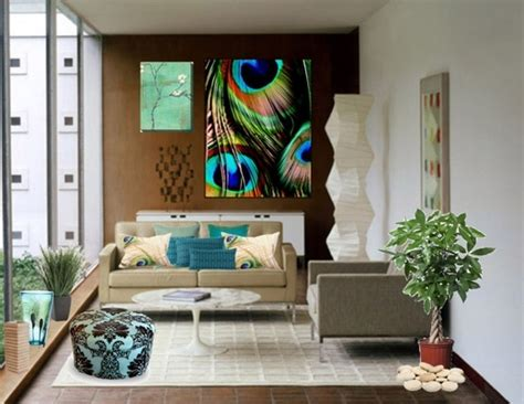 Peacock Inspired Living Room by Aesthetically Beautiful Peacock Home D 233 Cor Ideas Decozilla