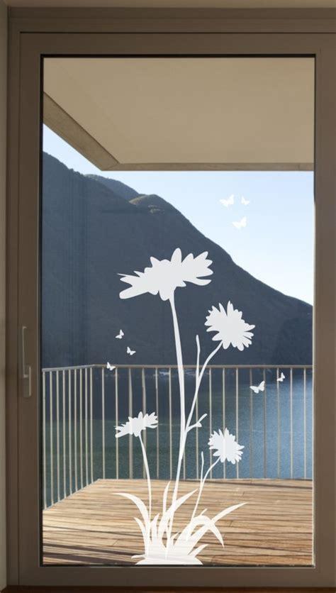 Sichtschutz Aufkleber Fenster by 568 Wintergarten Fenster Aufkleber Fensterfolie Gerbera