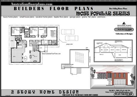 sloping land house plans 171 unique house plans