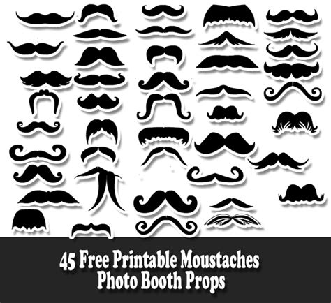 printable photo booth props black and white 700 free printable photo booth props