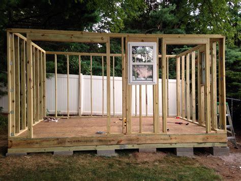 build  storage shed  scratch step  step