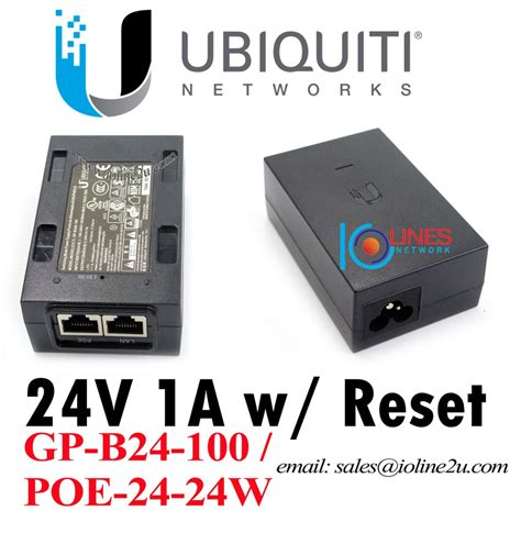 Ubiquiti Poe Adapter 24vdc ubiquiti ubnt network 24v 1a poe 24 24w adapter injector