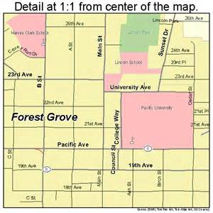 forest grove oregon map 4126200