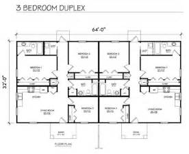 floor plans for duplexes 3 bedroom home front homes multi family 3 bedroom duplex