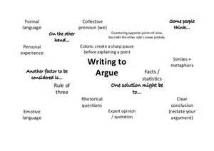 writing to argue