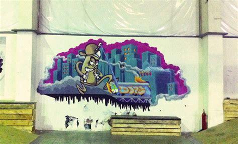 graffitimuralilustracja karol maziarek warszawa