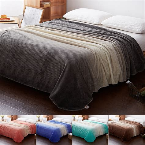 cashmere sofa throws modern fashion gradient hive blanket warm winter cashmere