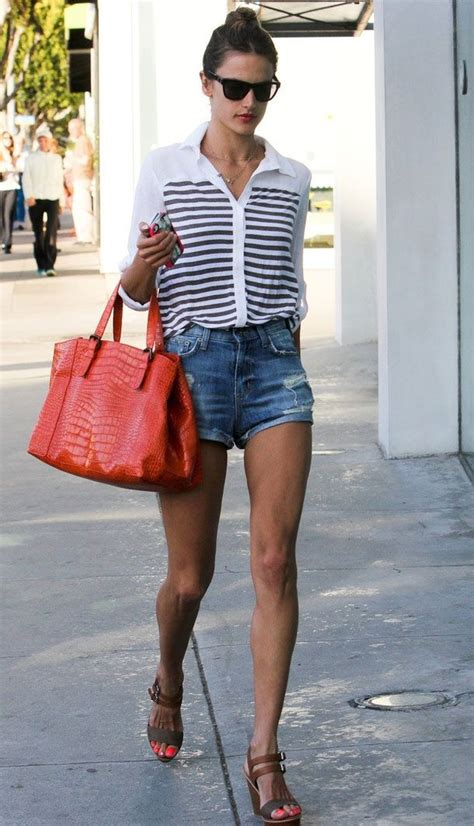 Street style alessandra ambrosio fashionlove pinterest