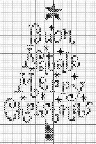lettere corsive punto croce schemi punto croce di natale per tovaglie pagina 2