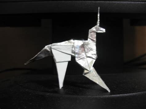 Origami Blade - origami unicorn from blade runner what why