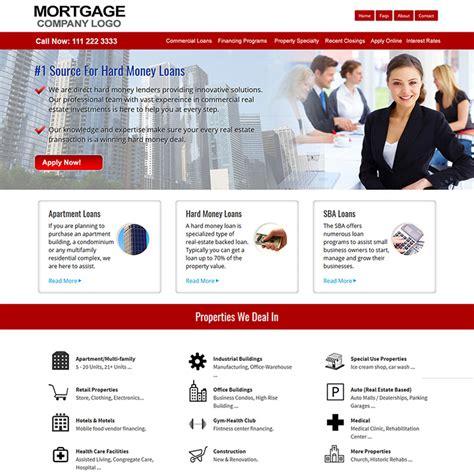 Mortgage Website Design Mortgage Website Templates Reverse Mortgages Web Site Loan Loan Website Templates