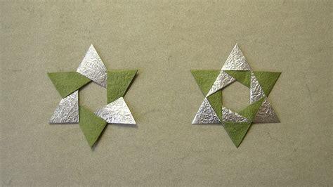 tutorial video star christmas origami instructions hex star maria sinayskaya