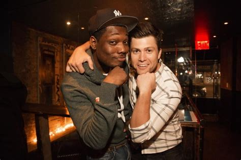 michael che and girlfriend snl actors kinda defend trump think he s smart and hard