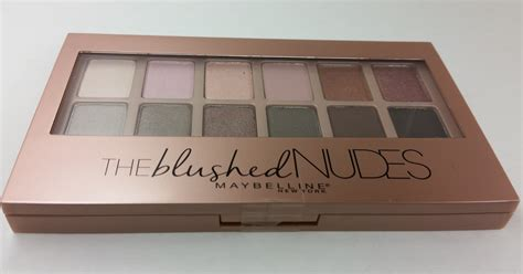 Maybelline The Blushed Palette Dupe Decay 3 lainamarie91 maybelline the blushed 12 pan eyeshadow palette
