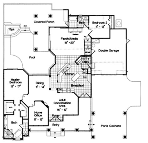 walton house floor plan walton 4085 3 bedrooms and 3 5 baths the house designers